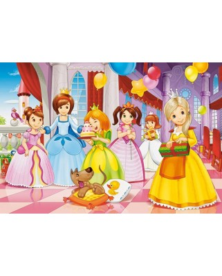 Puzzle Castorland Maxi - Princess Party, 40 Piese