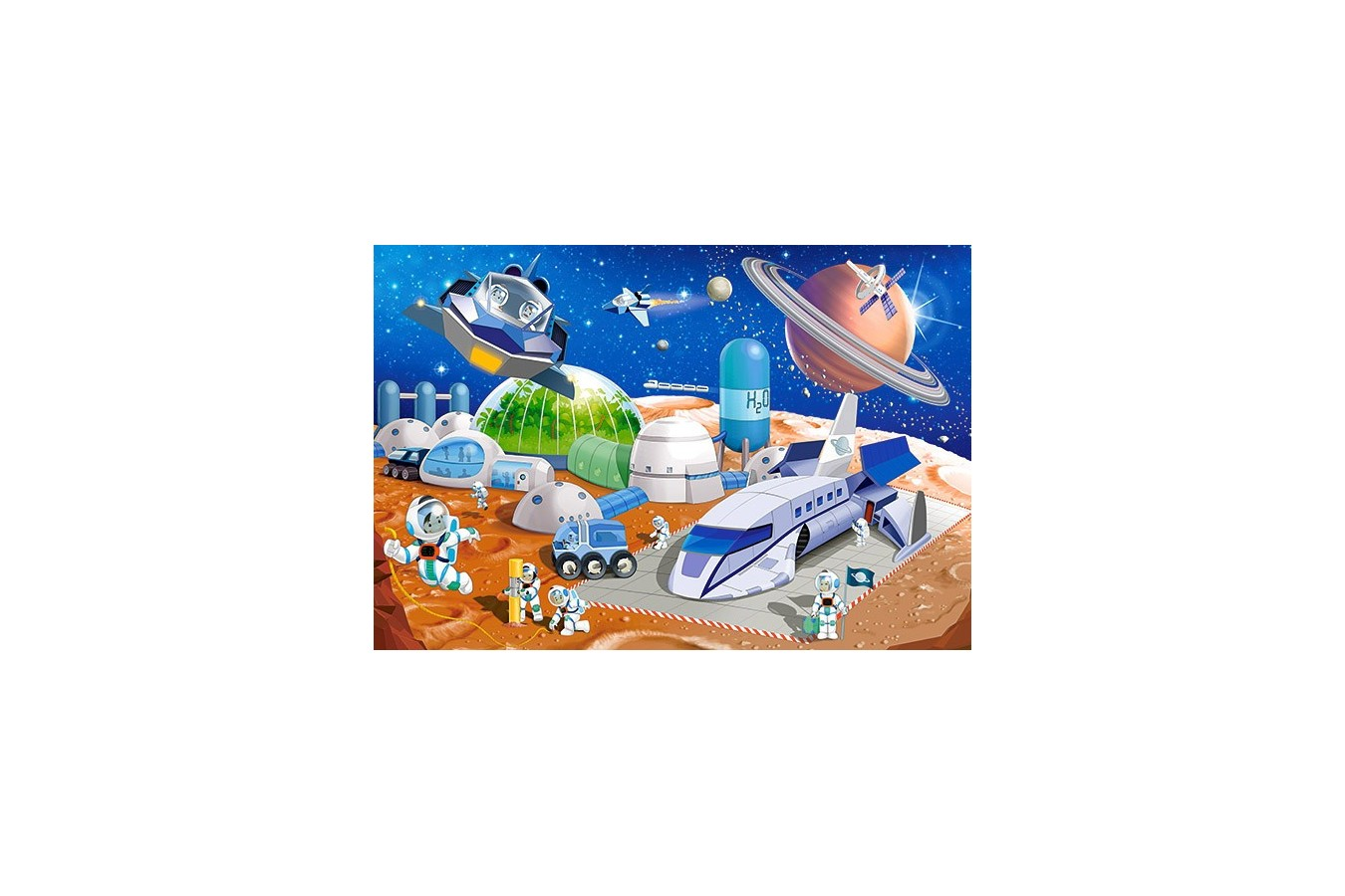 Puzzle Castorland Maxi - Space Station, 40 Piese