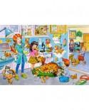 Puzzle Castorland Maxi - Visit At The Vet, 40 Piese