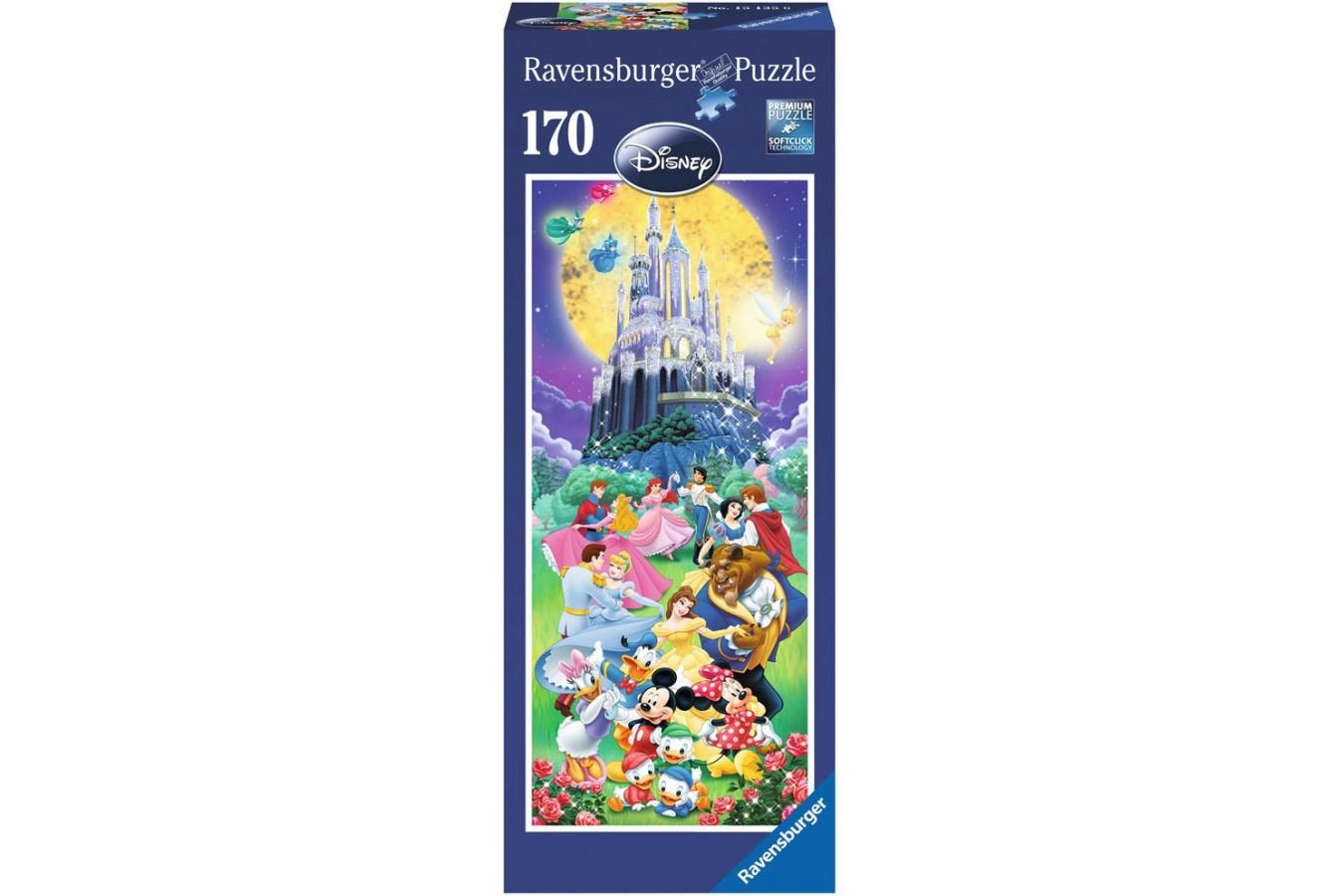 Puzzle Ravensburger - Castelul Disney , 170 piese (15135)