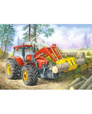Puzzle Castorland - Forest Site, 60 Piese