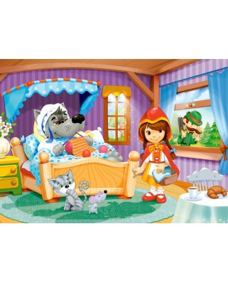 Puzzle Castorland - Little Red Riding Hood, 60 Piese