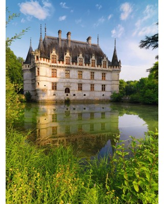 Puzzle Ravensburger - Castelul Azay Le Rideau, 1500 piese (16325)
