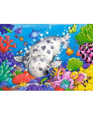 Puzzle Castorland - On The Coral Reef, 60 Piese