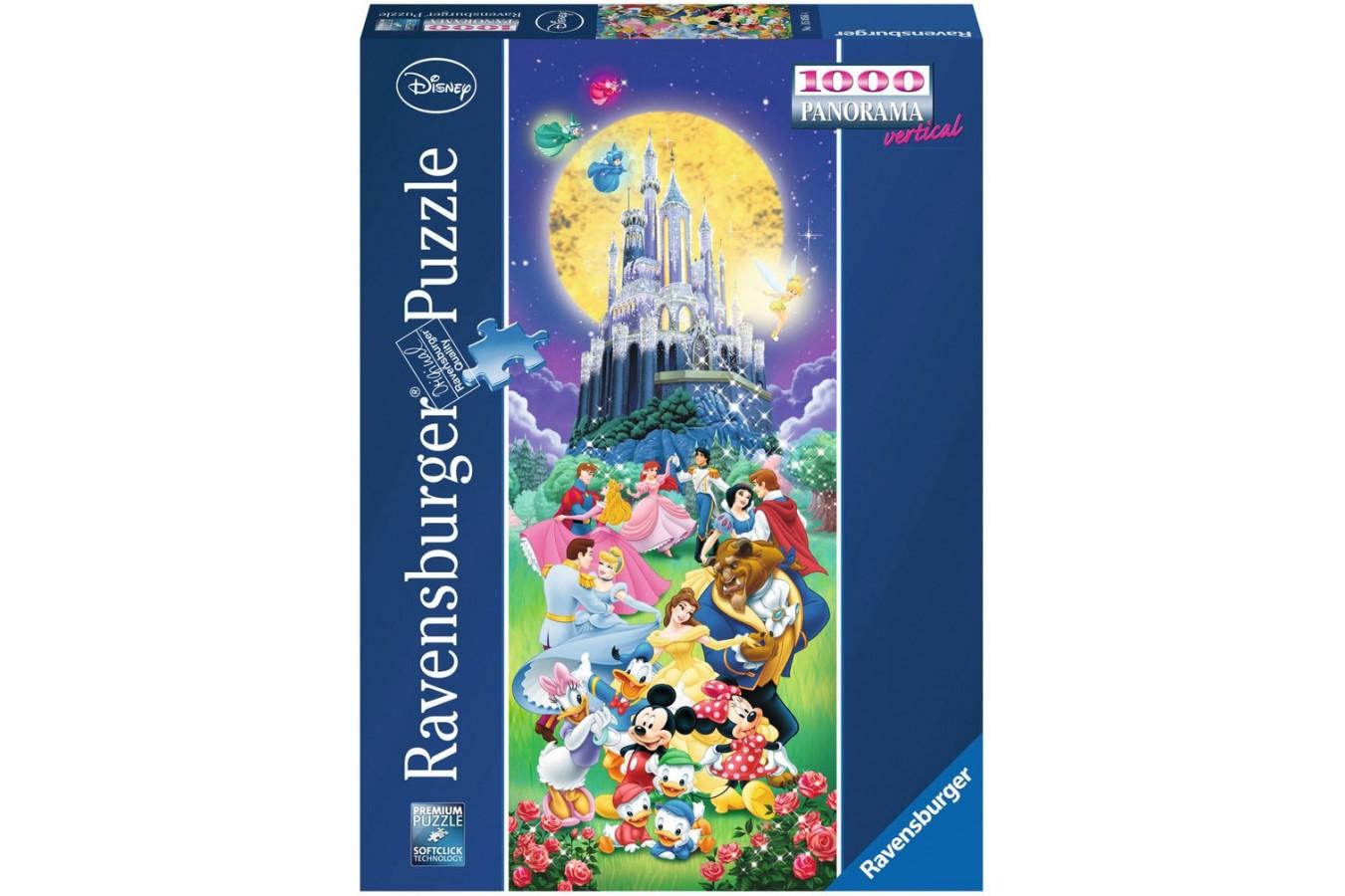 Puzzle Ravensburger - Castelul Disney, 1000 piese (15056)