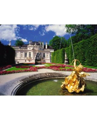 Puzzle Ravensburger - Castelul Linderhof Vara, 300 piese (13604)
