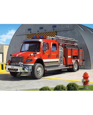 Puzzle Castorland - Fire Engine, 120 Piese