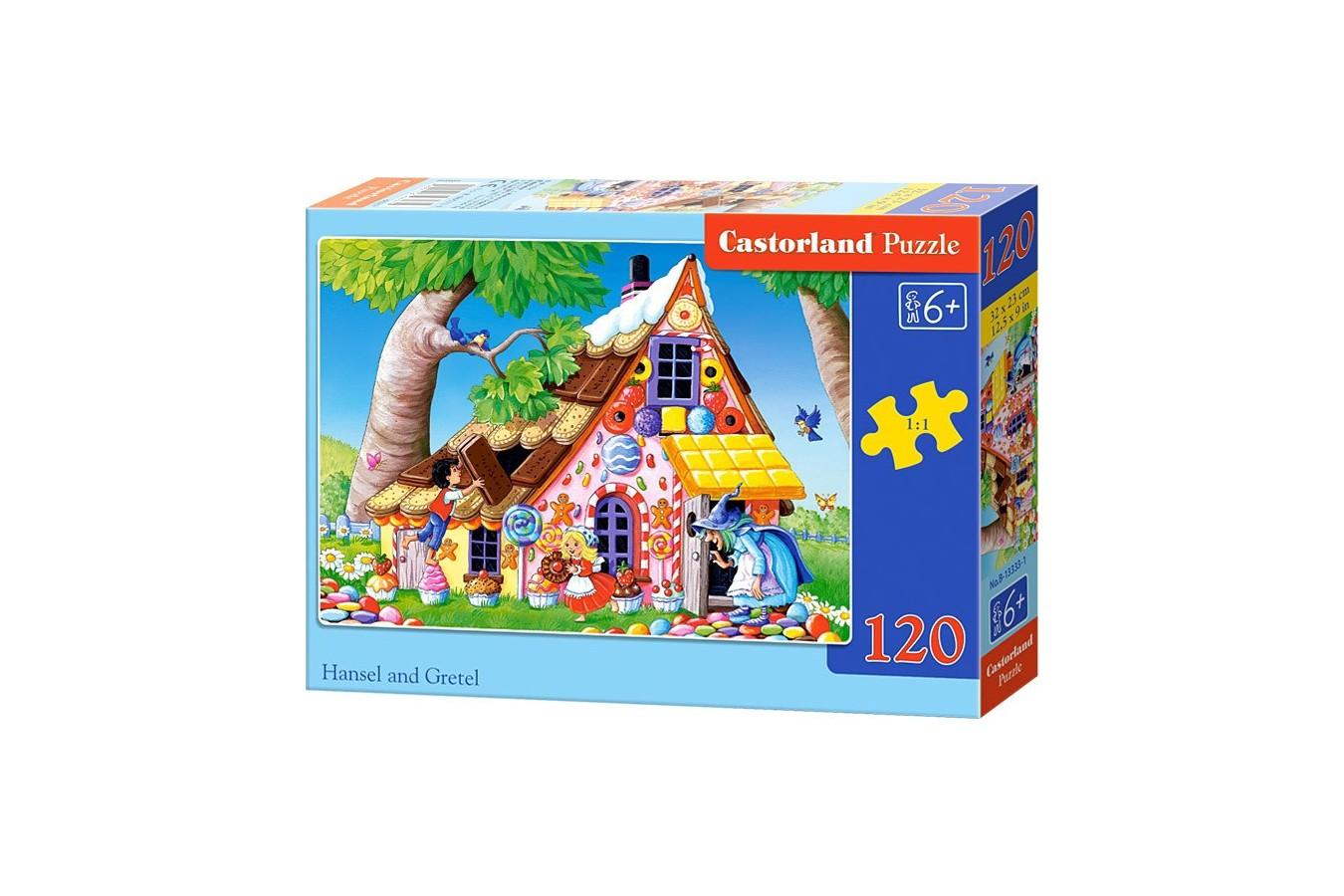 Puzzle Castorland - Hansel Si Gretel, 120 Piese