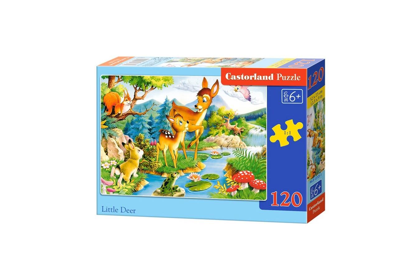 Puzzle Castorland - Little Deer, 120 Piese