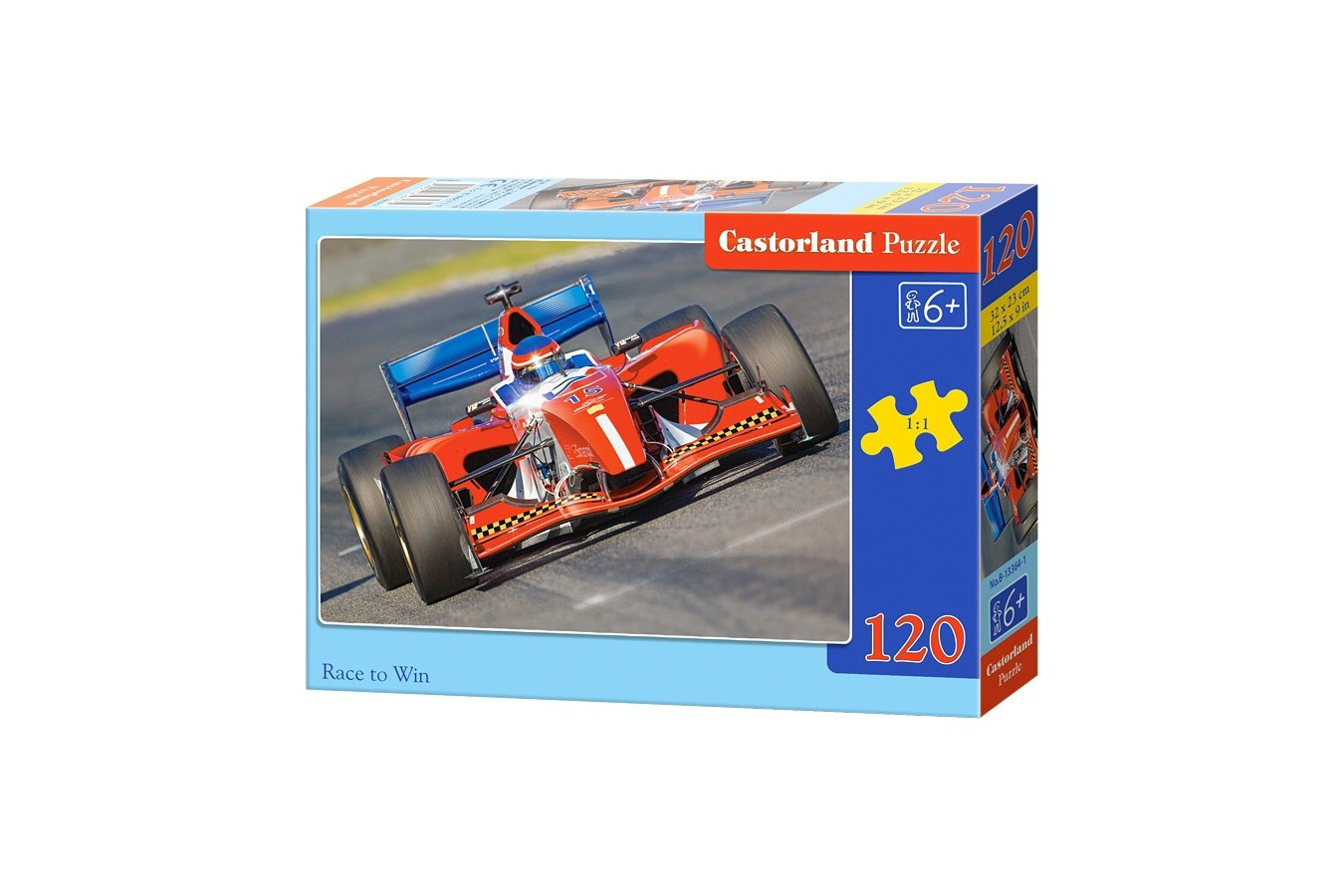 Puzzle Castorland - Race To Win, 120 Piese