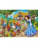 Puzzle Castorland - Snow White And The Seven Dwarfs, 120 Piese