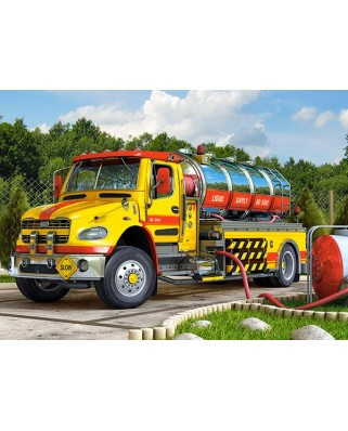 Puzzle Castorland - Tanker Truck, 120 Piese