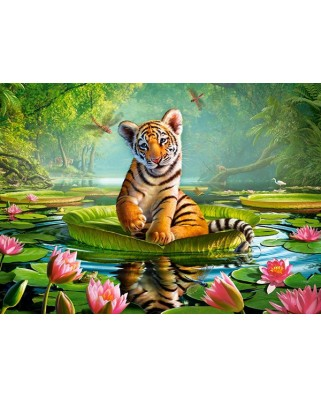 Puzzle Castorland - Tiger Lily, 120 Piese