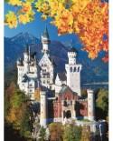 Puzzle Ravensburger - Castelul Neuschwanstein Toamna, 1.500 piese (16386)