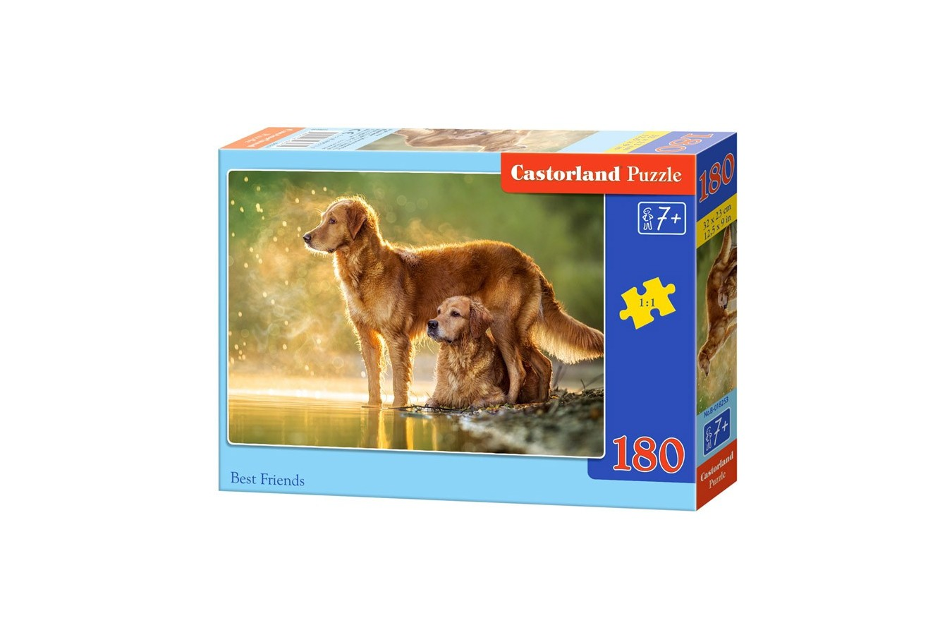 Puzzle Castorland - Best Friends, 180 Piese