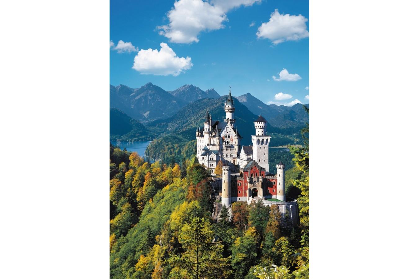Puzzle Ravensburger - Castelul Neuschwanstein, 1.000 piese (15755)