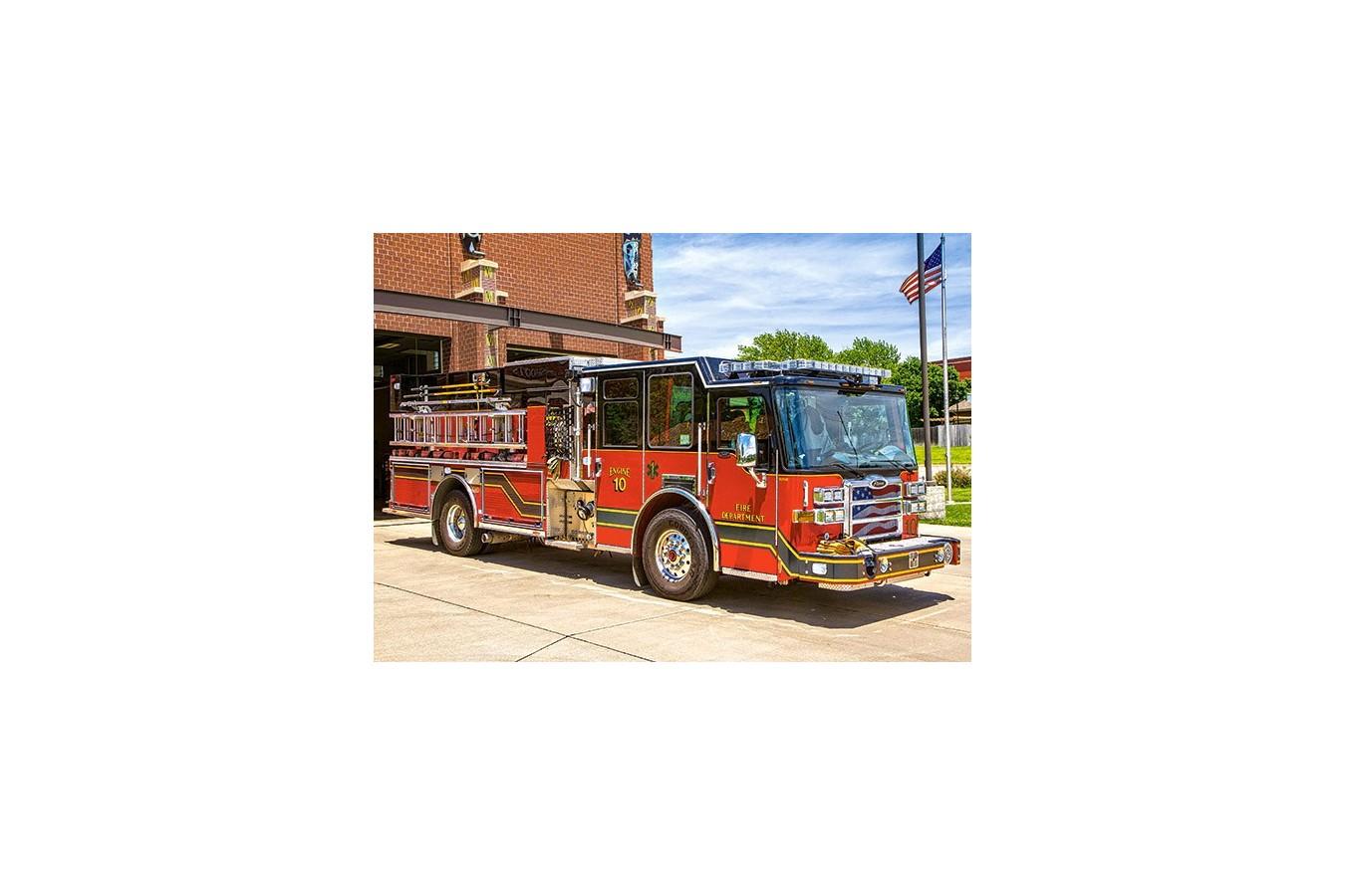 Puzzle Castorland - Fire Engine, 180 Piese