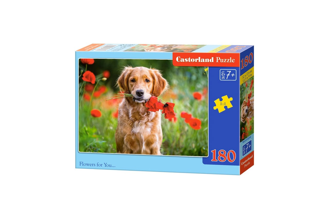 Puzzle Castorland - Flowers For You, 180 Piese