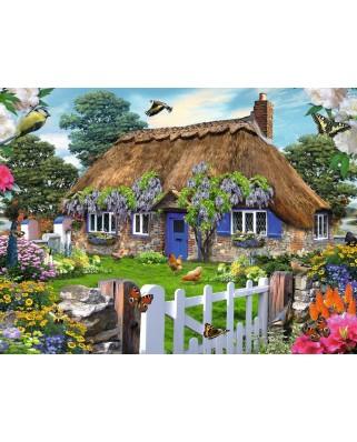 Puzzle Ravensburger - Casuta In Anglia, 1.500 piese (16297)