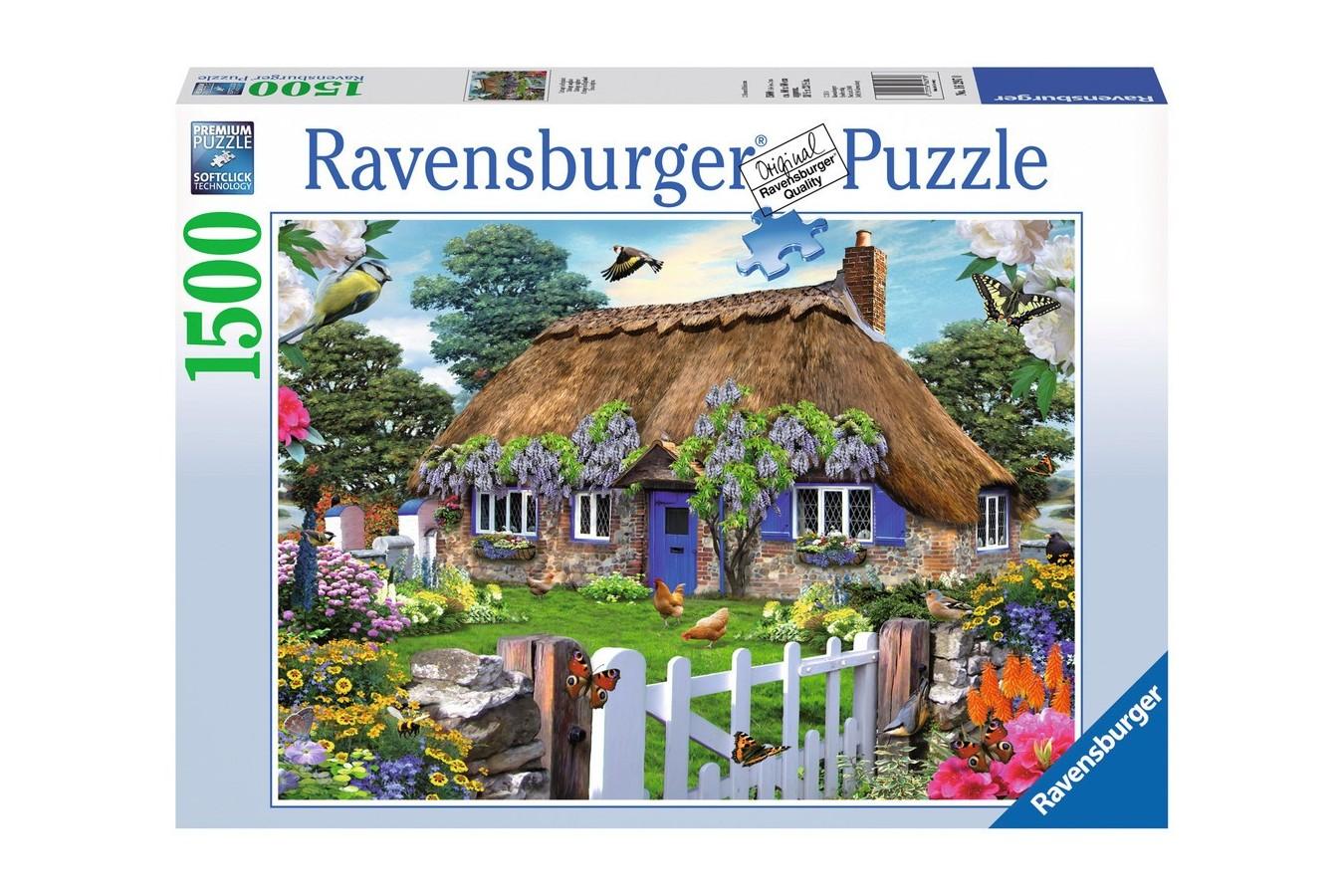 Puzzle Ravensburger - Casuta In Anglia, 1500 piese (16297)
