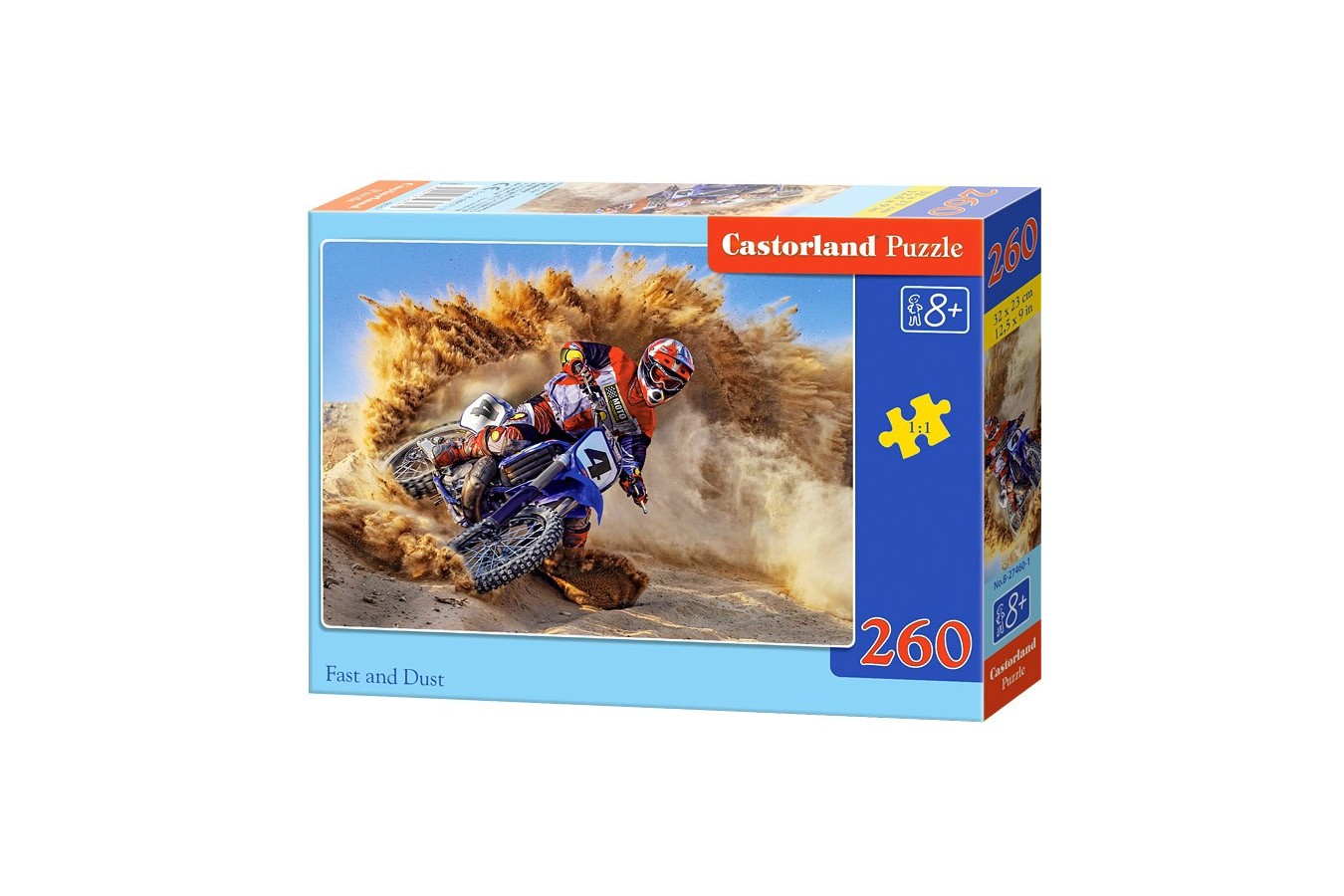 Puzzle Castorland - Fast And Dust, 260 Piese