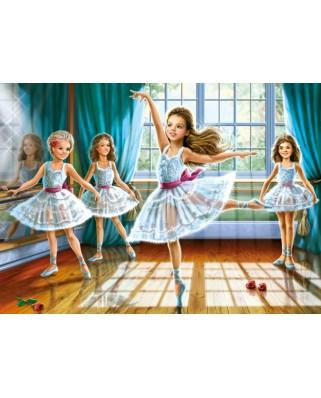 Puzzle Castorland - Little Balerinas, 260 Piese