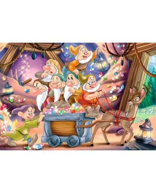 Puzzle Ravensburger - Cei Sapte Pitici, 2x24 piese (08859)