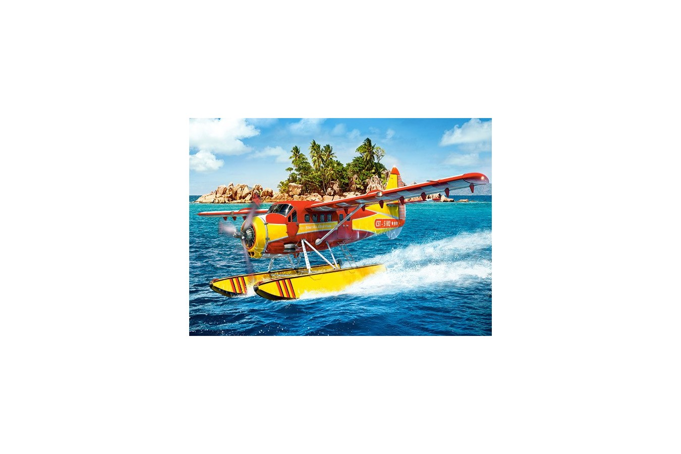 Puzzle Castorland - Tropical Taxi, 260 Piese