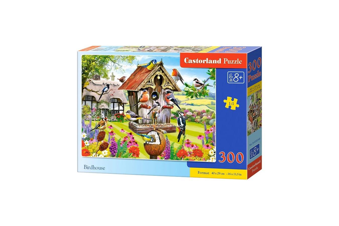 Puzzle Castorland - Birdhouse, 300 Piese