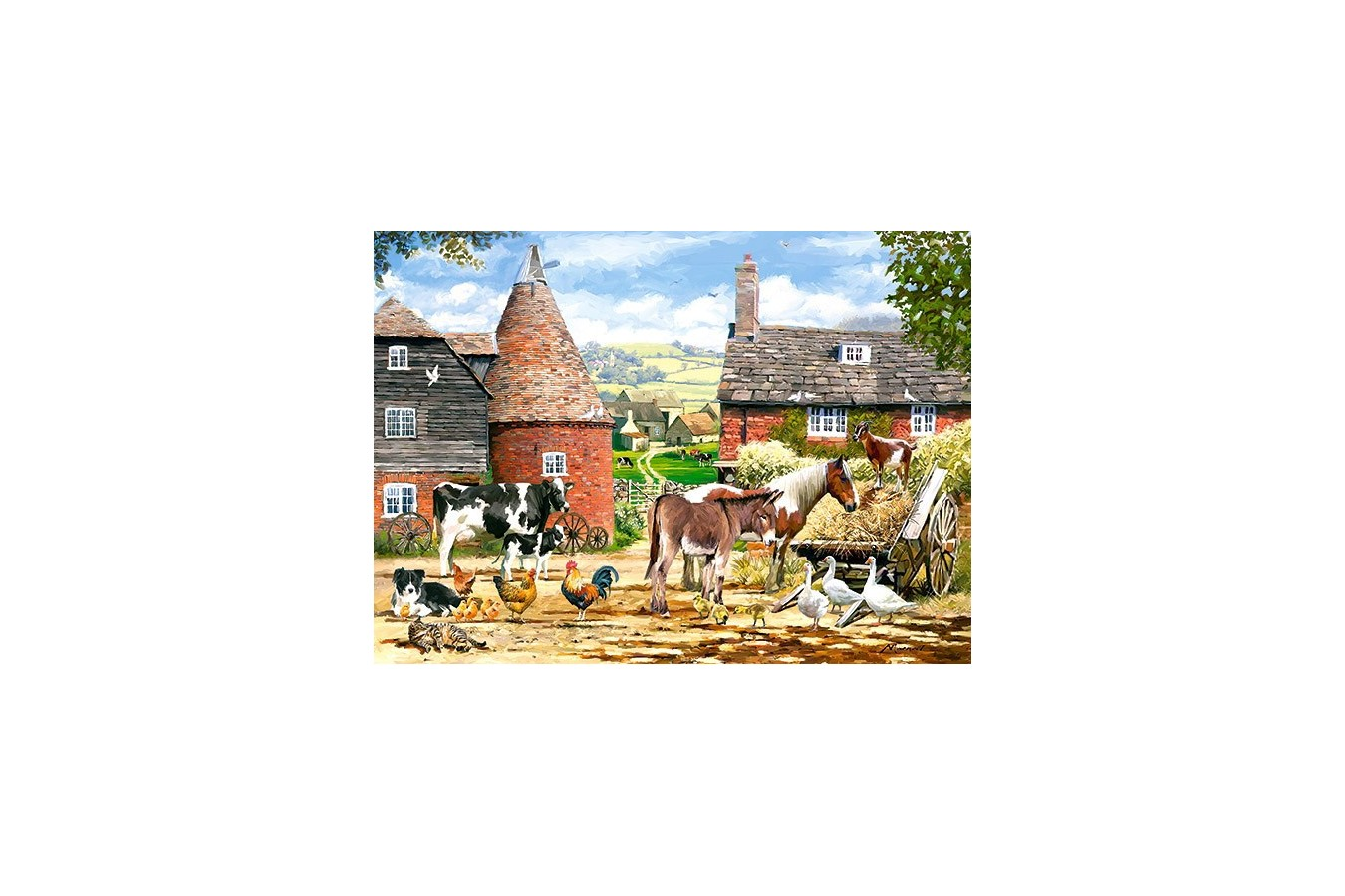Puzzle Castorland - Farmyard, 300 Piese