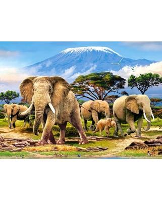 Puzzle Castorland - Kilimanjaro Morning, 300 Piese