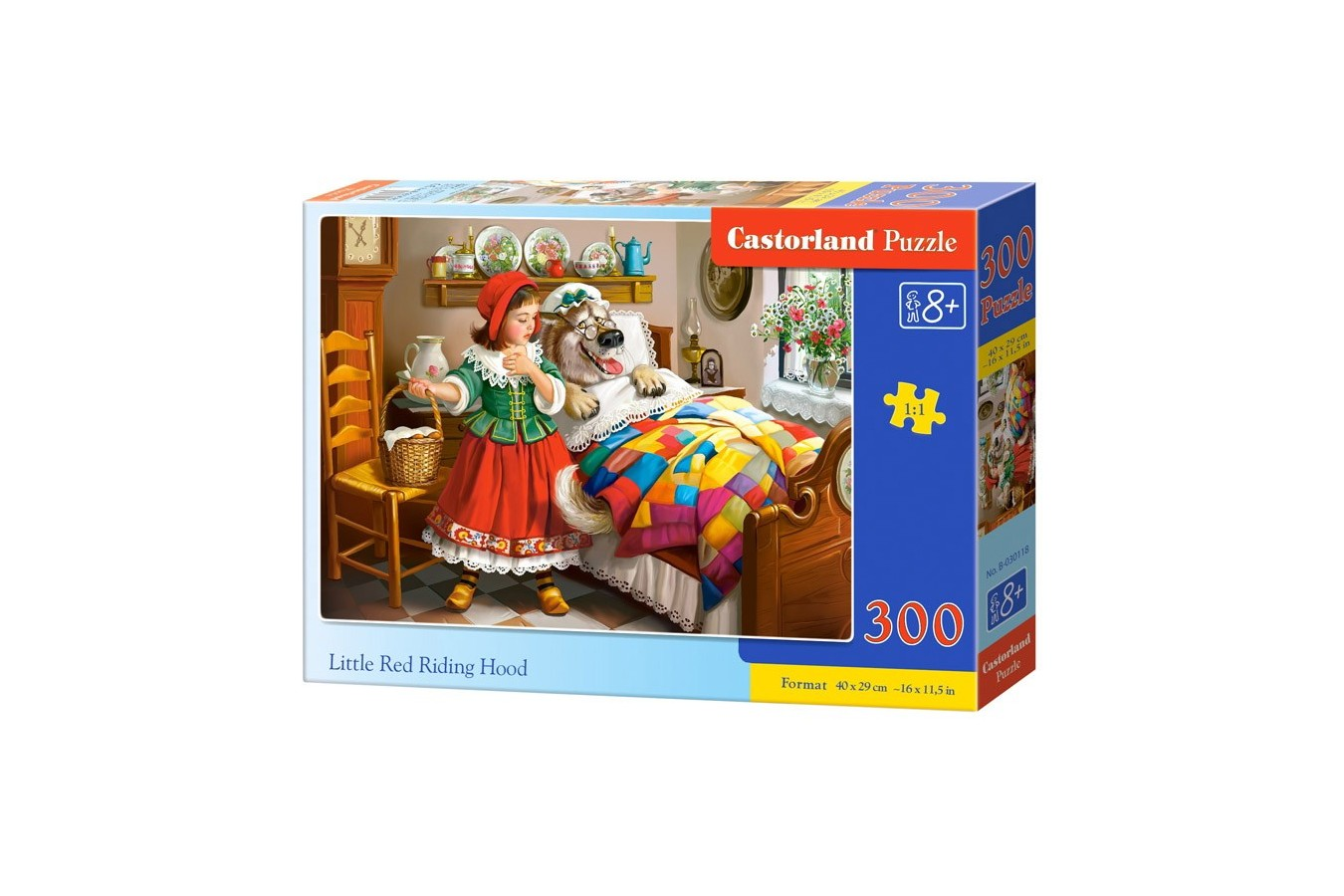 Puzzle Castorland - Little Red Riding Hood, 300 Piese
