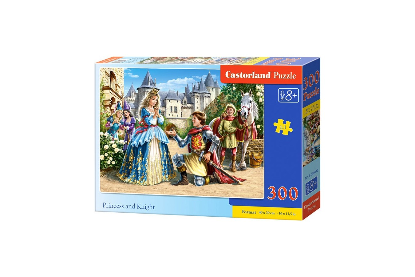 Puzzle Castorland - Princess And Knight, 300 Piese