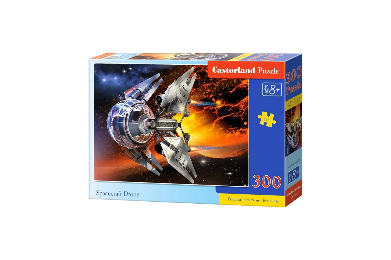 Puzzle Castorland - Spacecraft Drone, 300 Piese