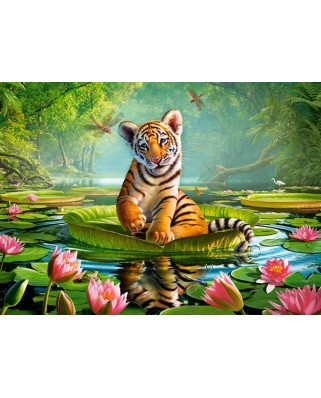Puzzle Castorland - Tiger Lily, 300 Piese