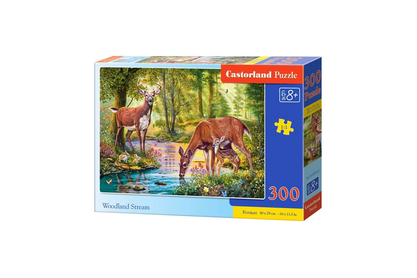 Puzzle Castorland - Woodland Steam, 300 Piese