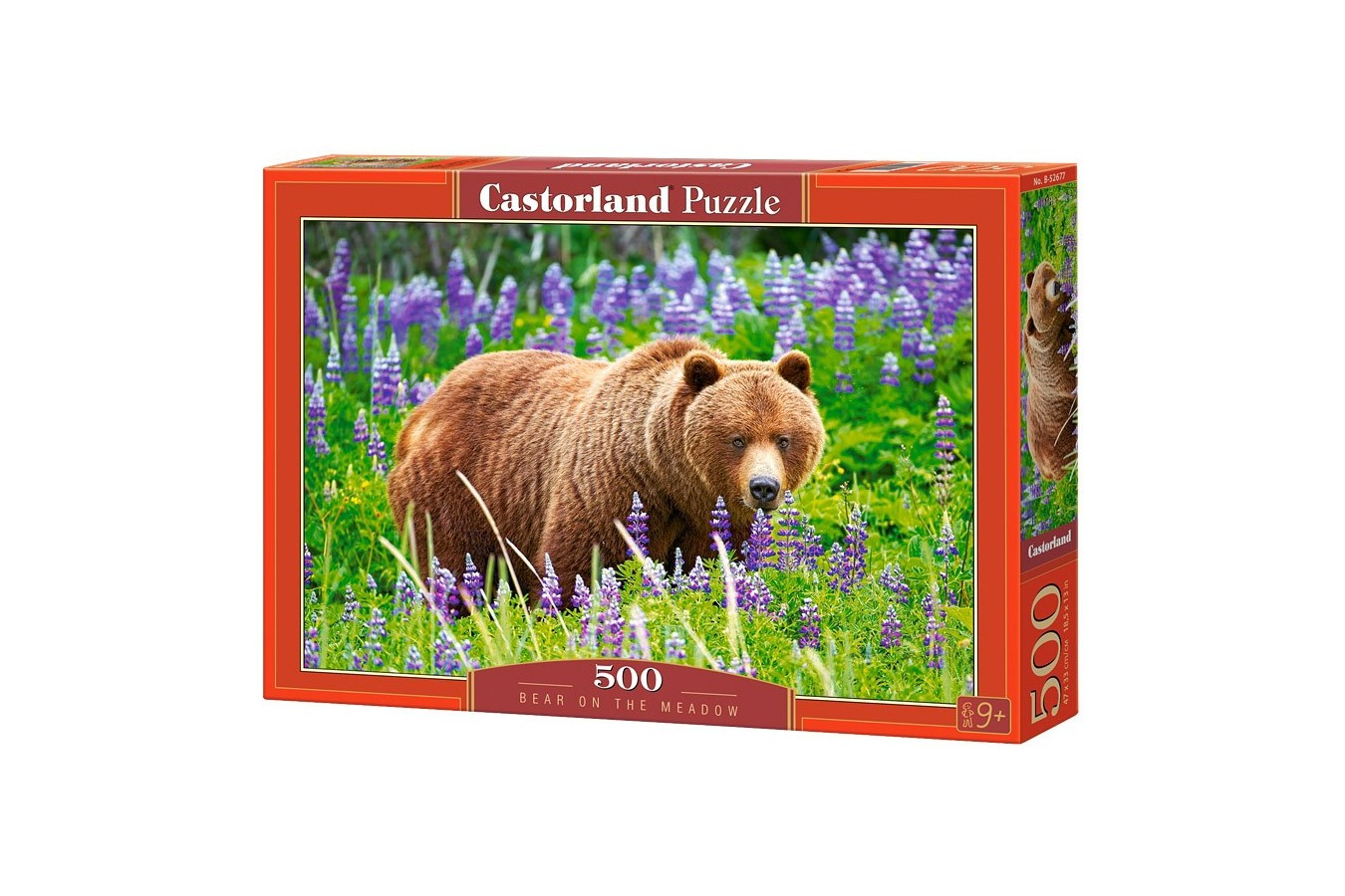 Puzzle Castorland - Bear On The Meadow, 500 Piese