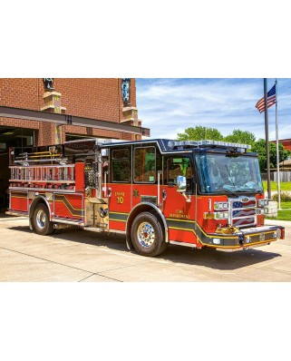 Puzzle Castorland - Fire Engine, 500 Piese