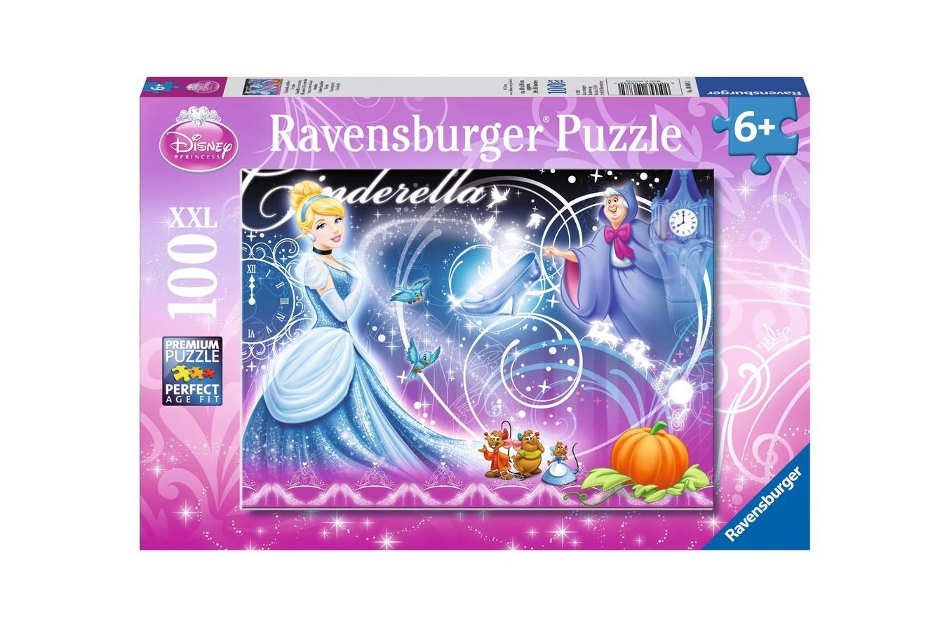 Puzzle Ravensburger - Cenusareasa Si Prietenii, 100 piese (10688)