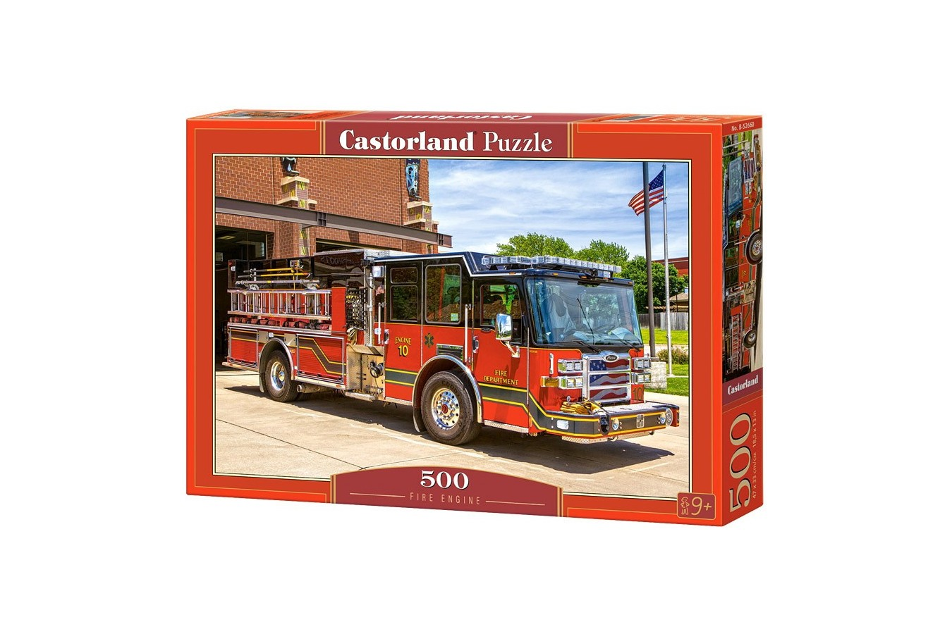 Puzzle Castorland - Fire Engine, 500 Piese