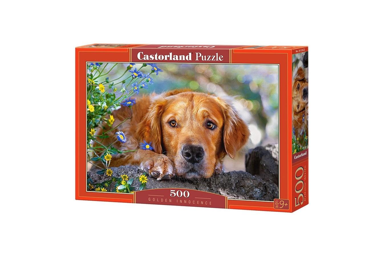 Puzzle Castorland - Golden Innocence, 500 Piese