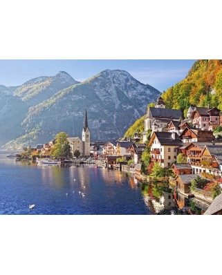 Puzzle Castorland - Hallstatt Austria, 500 Piese