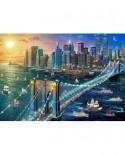 Puzzle Castorland - New York Brooklyn Bridge, 500 Piese