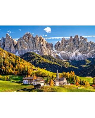 Puzzle Castorland - Santa Maddalena In Val Di Funes, 500 Piese