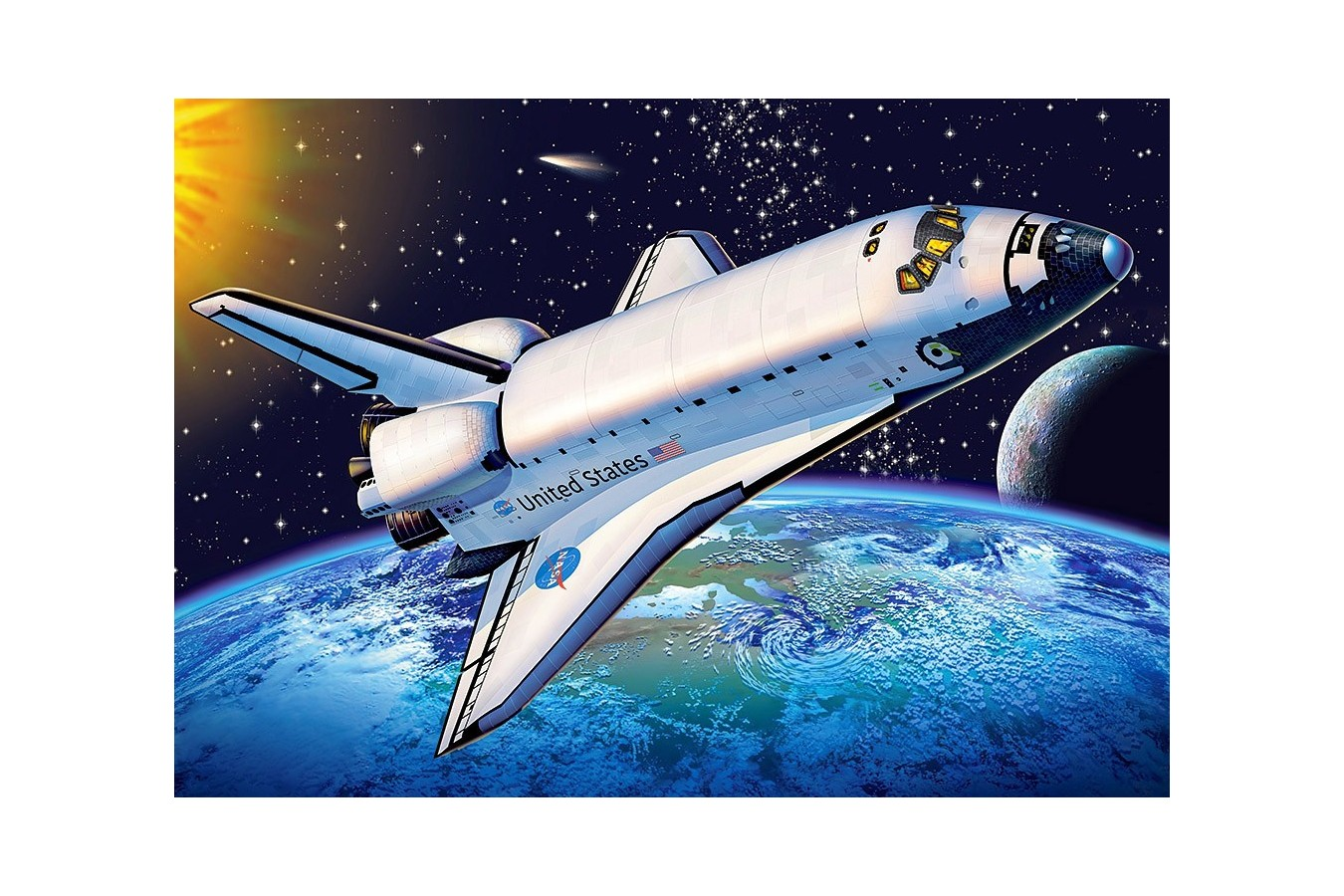 Puzzle Castorland - Space Shuttle, 500 Piese