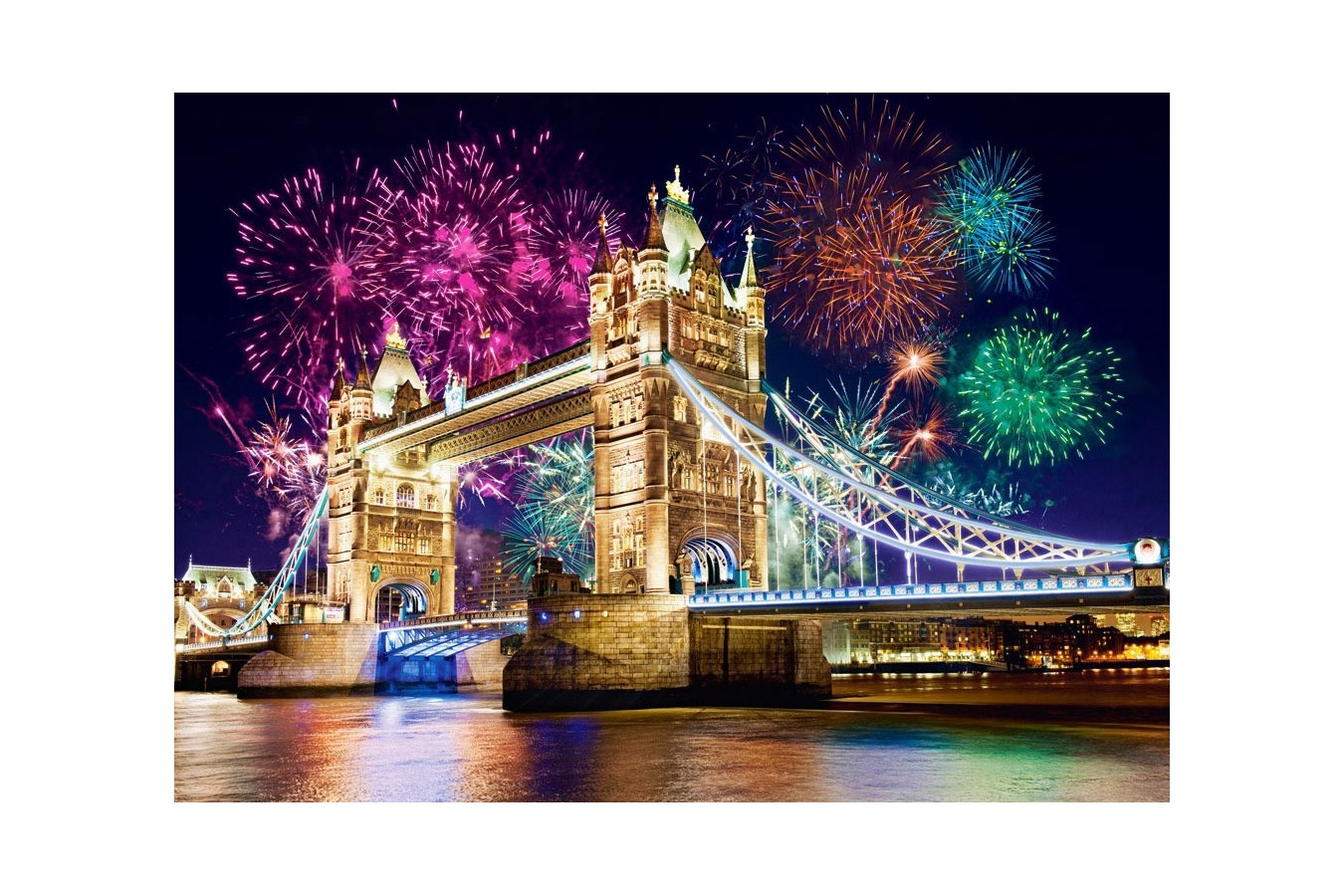 Puzzle Castorland - Tower Bridge, 500 Piese