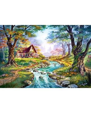 Puzzle Castorland - Colors Of Autumn, 1500 Piese