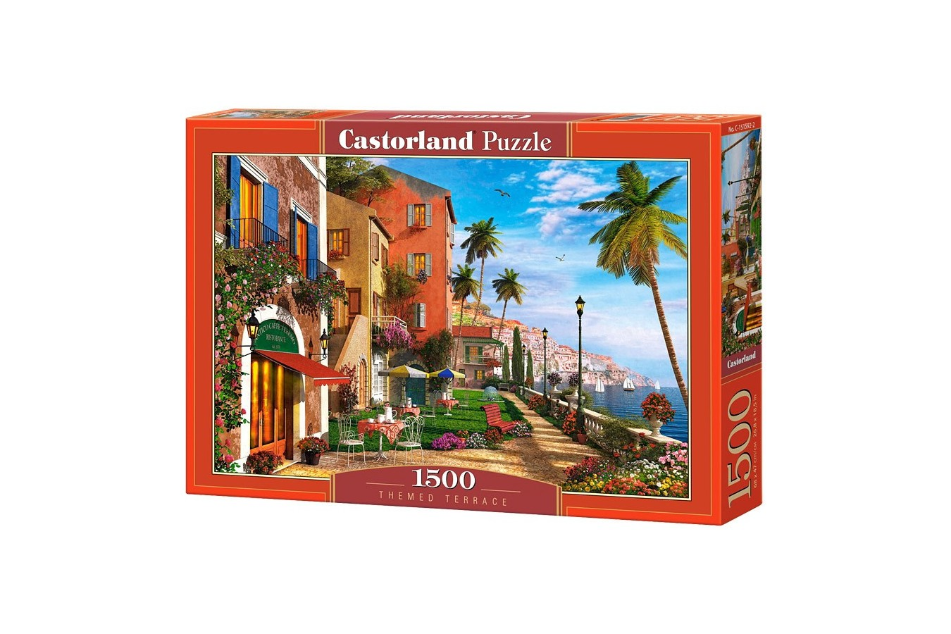 Puzzle Castorland - Themed Terrace, 1500 Piese