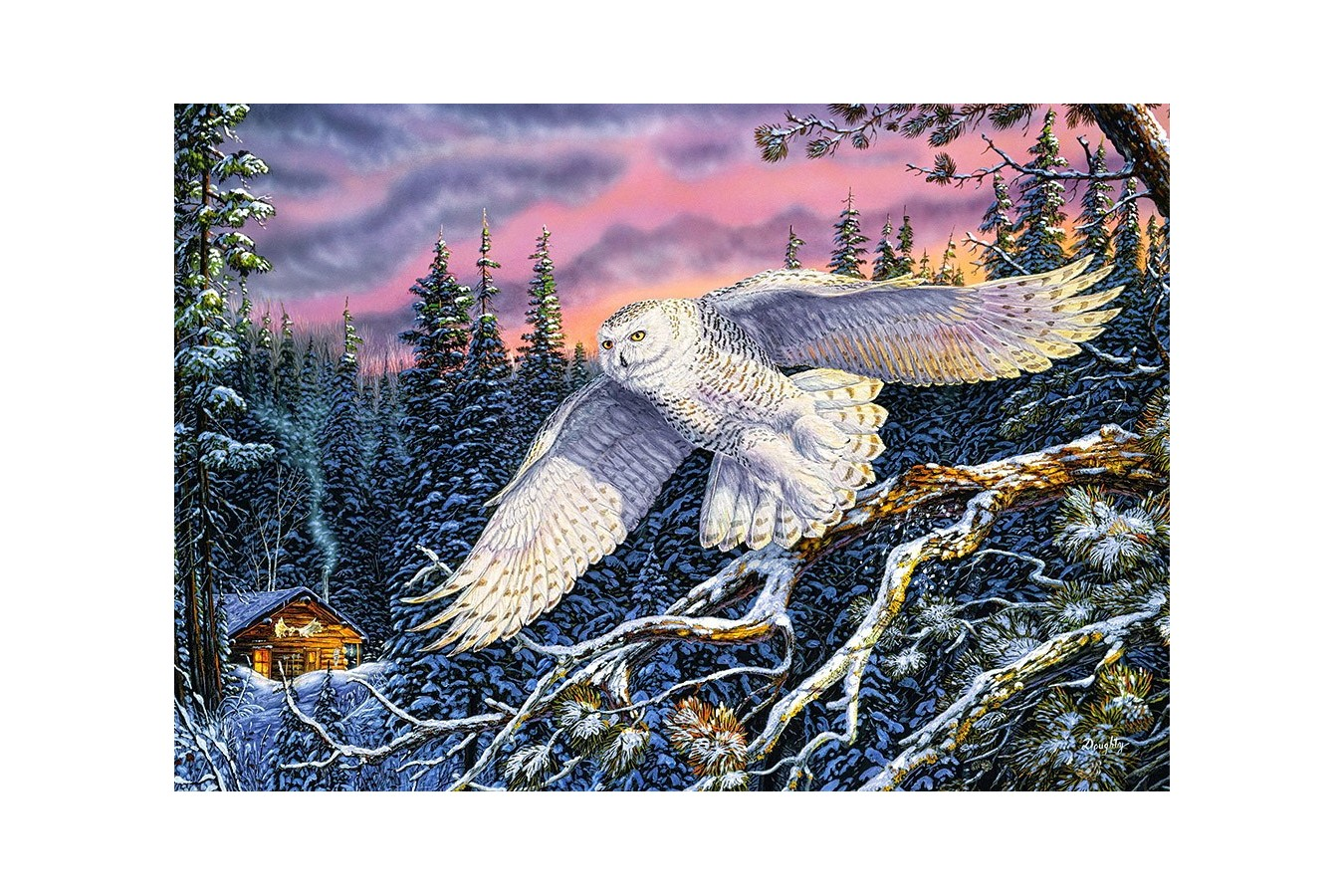 Puzzle Castorland - Whisper On The Wind, 1500 Piese