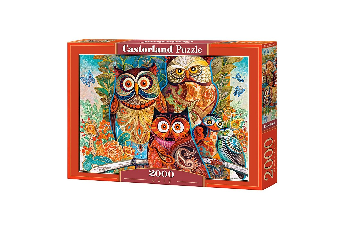 Puzzle Castorland - Owls, 2000 Piese